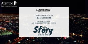 Atempo expose au NAB SHOW 2019